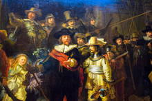 The Night Watch By Rembrandt V...