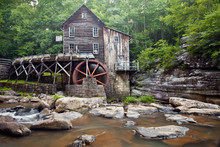 Glade Creek Grist Mill At Babc...