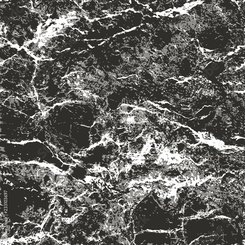 Realistic seamless vector pattern of marble texture #233103697