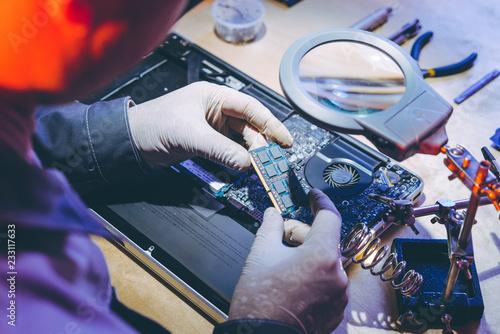 Fotografía  service repair electronics