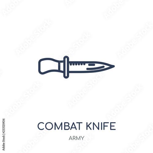 Photo  combat knife icon