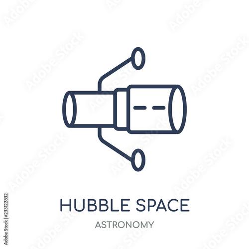 Fotografie, Obraz Hubble space telescope icon