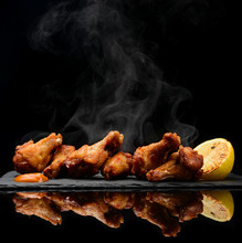 Hot And Spicy Bbq Chicken Wing...