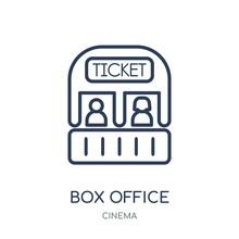 Box Office Icon. Box Office Li...