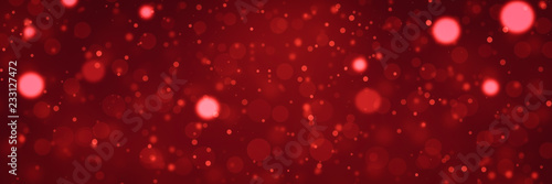 red glitter texture christmas banner background for Christmas new year and holiday background.