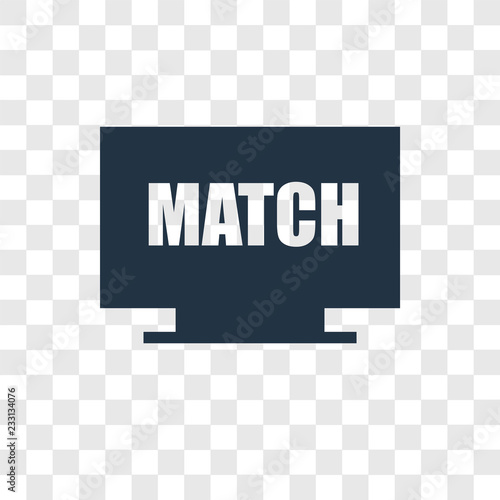 In de dag Retro sign Tv vector icon isolated on transparent background, Tv transparency logo design