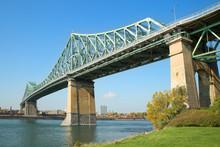 Jacques Cartier Bridge In Mont...