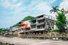 Shifen Old Town Of Pingxi Line In New Taipei City, Taiwan