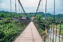 Wooden Bridge And Shifen Old T...