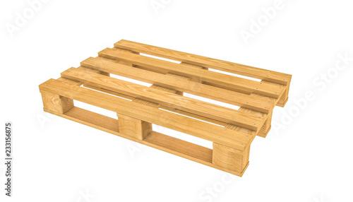 3d wooden pallet © tiero