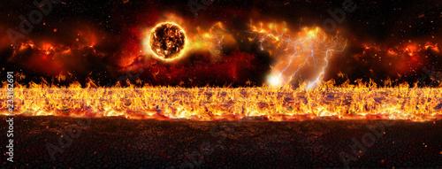 Apocalypse - Doomsday Canvas Print