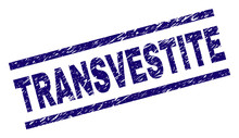 TRANSVESTITE Seal Watermark Wi...
