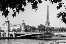 Pont Alexandre III Bridge With...