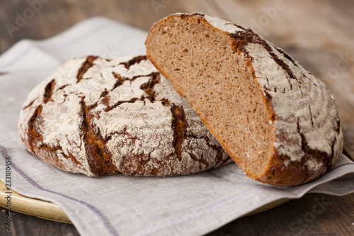 Tuinposter Brood Bread and baker