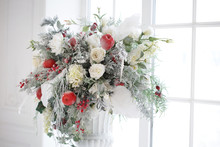 Winter Flower Arrangement In A...