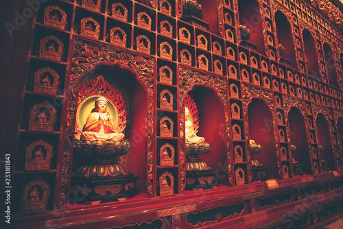 Fotografie, Obraz  Walls in Hindu temples