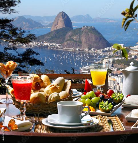 Breakfast Rio de Janeiro Wall mural