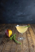 Pear And Rosemary Cocktail