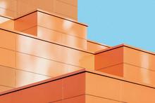 Modern Building Facade Detail,...