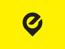 Letter E Vector Logo Design In...