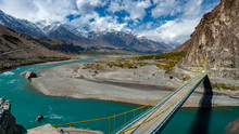 Autumn At Ghizer Valley. North...