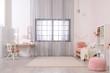 Leinwandbild Motiv Child room with modern furniture. Idea for interior decor