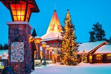 Christmas Santa Claus Office I...