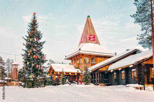 Santa Claus Office in Santa Claus Village in Rovaniemi