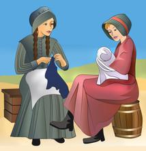 Pioneer Women On The Prairie