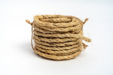 Coil Of Fiber Rope Sisal Small...