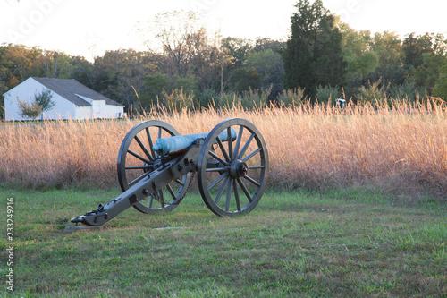 Canvastavla cannon