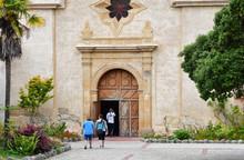 Carmel, USA - July 14 2016 : Spanish Catholic Mission