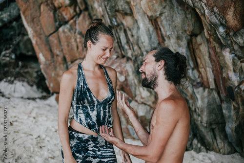 Poster Artist KB Romantic proposal at the beach