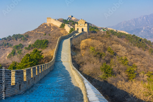 The Great Wall of China, section of Badaling, China