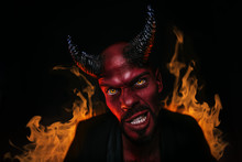 Portrait Of Bad Demon