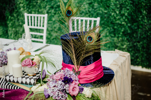 Fotomural Alice in Wonderland, Wedding, Decoration