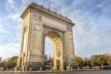 The Triumphal Arch (Arcul de Triumf) in Bucharest, Romania - 233274664