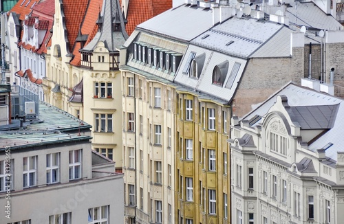 Obraz na plátně  Arquitectura de Praga