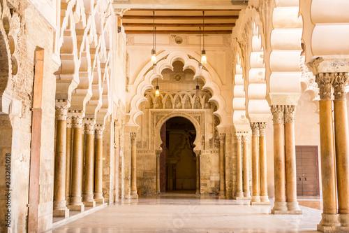 Canvastavla Islamic palace, Zaragoza, Aragon, Spain