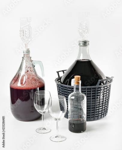 Valokuva Wino domowe, fermentacja