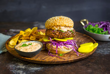 Burger With Korean Bulgogi