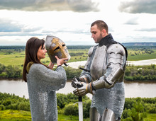 The Lady Puts On Her Knight A ...