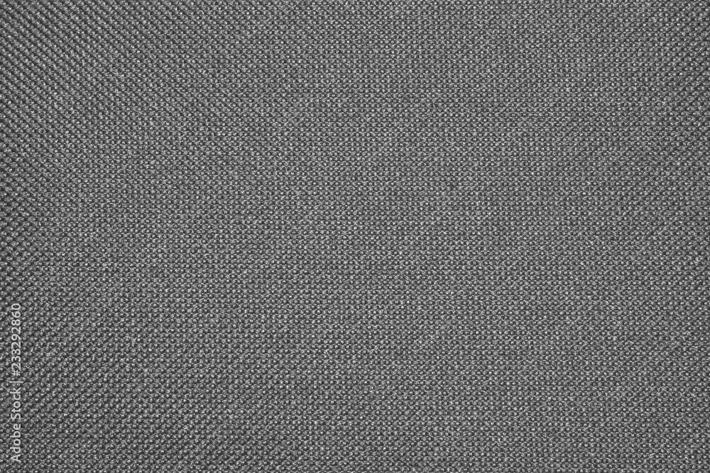 Fototapety, obrazy: Dark grey texture of the binding fabric.