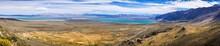 Aerial View Of Mono Lake Area, Eastern Sierra Mountains, California