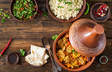Traditional Tajine Dishes, Cou...