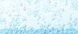 Macro bubbles of water