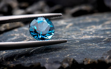 Blue Topaz Gemstone Jewelry.