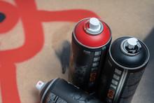 Aerosol Paint Graffiti