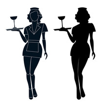 Waitress_silhouette