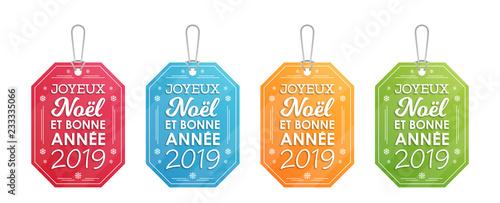 Photos De Joyeux Noel 2019.Etiquettes Joyeux Noel Et Bonne Annee 2019 Buy This